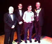 Tim Harding wins BFAME Roy Marshall Cup for Best Musical Achievement